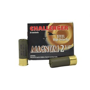 CHALLENGER STEEL 12 2 3 / 4 1 1 / 8OZ #1 BOX / 20