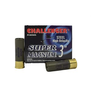"CHALLENGER STEEL 3"""" 1¼OZ #3"" BOX / 20"