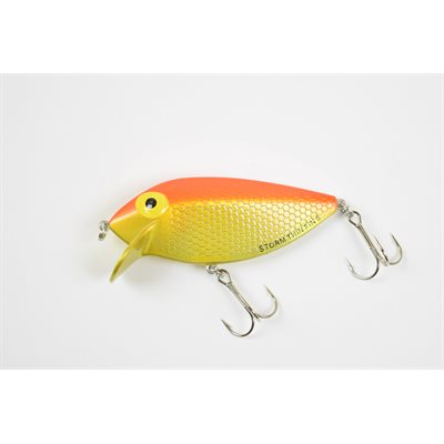 THIN FIN 06-109 MET GOLD FLUO RED